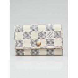 Louis Vuitton Damier Azur Multicles 6 Ring Key Holder Case