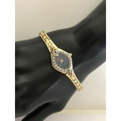 Jules Jurgensen 1/10 ct. t.w. Diamond & Sapphire Vintage Watch 3304DS