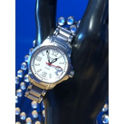 Mednikow Stainless Steel Sapphire Crystal Watch