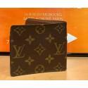 Louis Vuitton Marco Monogram Canvas Mens Bifold Wallet