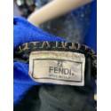 FENDI FF ZUCCA LOGO ROMA 1925 ITALY XL WEEKENDER SHOULDER BAG