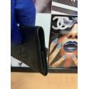 Chanel COCO Caviar CC LOGO Leather Timeless 6 Key Case Black
