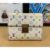 Louis Vuitton Monogram Multicolore Portefeiulle Koala Trifold Wallet
