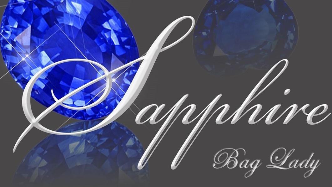 Sapphire Bag Lady